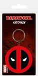 Marvel - Deadpool Symbol Rubber Keychain