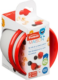 Trudeau - Leon Snack Bowl Set of 2 (295ml)