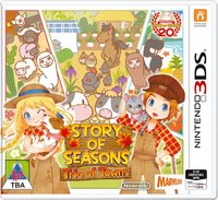 Story of Seasons: Trio of Towns (3DS) - Cover