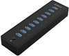 Orico 10 Port 30w USB 3.0 Hub - Black