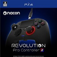Nacon - Revolution Pro Controller 2 NACON - Black (PS4) - Cover