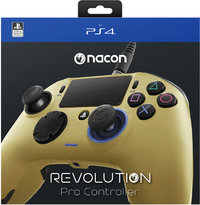 Nacon - Revolution Pro Gaming Controller  - Gold (PS4) - Cover