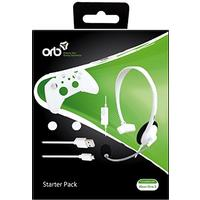 Orb Starter Pack - Wired Chat Headset, 3m Micro USB Cable, 2 X Thumbgrip (Compatible Xbox One S)