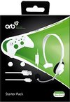 Orb Starter Pack - Wired Chat Headset, 3m Micro USB Cable, 2 X Thumbgrip (Compatible (Xbox One S))