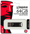 Kingston Technology DataTraveler Elite G2 64GB USB 3.0 (3.1 Gen 1) Type-A USB Flash Drive - Black