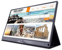 ASUS - 15.6 inch Full HD IPS Gloss Computer Monitor - Grey - Cover