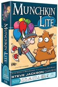 Munchkin Lite (Card Game) - Cover
