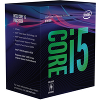 Intel Core i5-8400 Socket LGA 1151 Processor - Cover