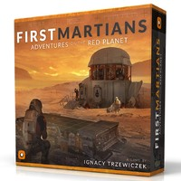First Martians: Adventures on the Red Planet (Board Game) - Cover