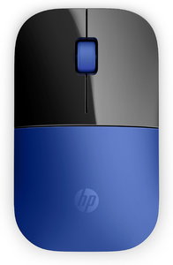 HP Z3700 Blue Wireless Mouse - Cover