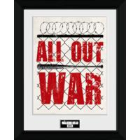 The Walking Dead - All Out War Collectors Framed Print