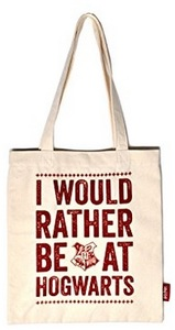 Harry Potter - Hogwarts Slogan Shopping Bag - Cover