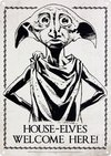 Harry Potter - Dobby Small Tin Sign (Metal Wall Sign A5)