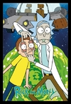 Rick and Morty - Ship (Framed Poster)