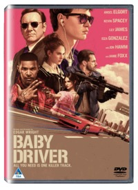 Baby Driver (DVD) - Cover