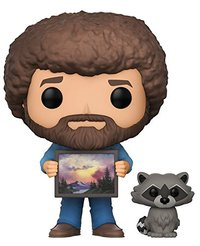 Funko Pop! Television - Bob Ross - Bob Ross With Raccoon - Cover