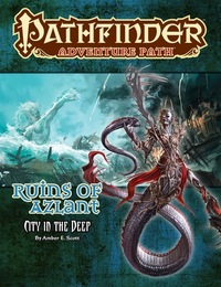 Pathfinder Adventure Path: City in the Deep (Role Playing Game) - Cover