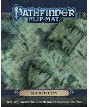 Inc  Paizo - Pathfinder Flip-mat Sunken City (Game)