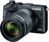 Canon EOS M6 Mirrorless Digital Camera Kit with EF-M 18-150mm 1:3.5-6.3 IS STM Lens - Black