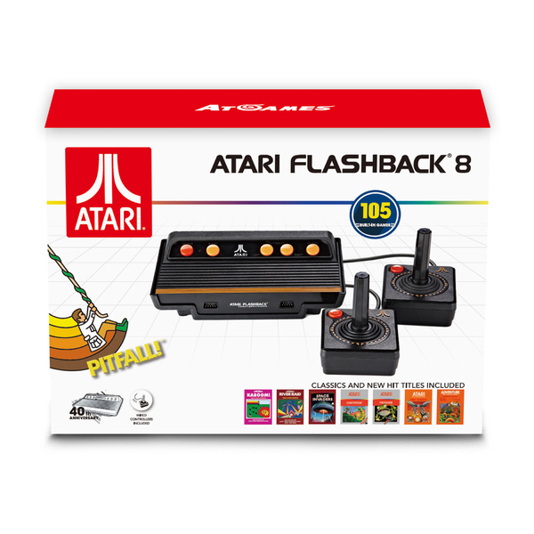 Atari flashback 8 classic game console 105 built in games - Atari flashback classic game console game list ...