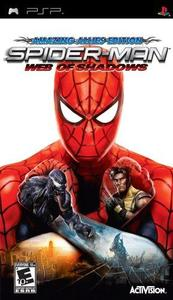 Spider-Man: Web of Shadows (US Import PSP) - Cover