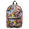Justice League - All Over Comic Print Backpack Cover