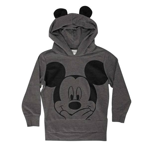 Mickey Mouse Youth Grey Toddler Costume Hoodie 4t Merch Online
