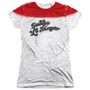 SUICIDE SQUAD Harley Quinn Daddy's Little Monster Women's Sublimated Shirt (X-Large)