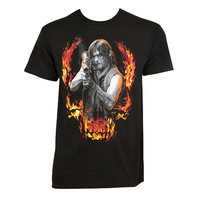 WALKING DEAD Flaming Daryl Tee Shirt (Medium) - Cover
