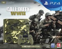 Sony PlayStation 4 Slim 1TB Console + Call of Duty: WWII - Limited Edition (PS4)