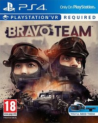Bravo Team (PS4) - Cover