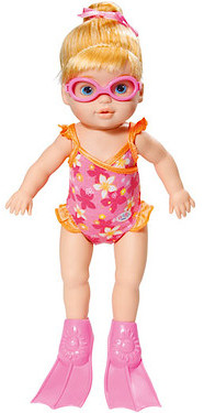 My Little Baby Born I Can Swim Doll Hobbies Amp Toys