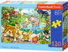 Castorland - Animals In the Jungle Puzzle (120 Pieces)
