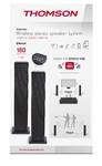 Thomson - DS60DUO Wireless Stereo Speaker System - Black