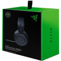 Razer - Kraken Pro V2 Analog Gaming Headset - Oval Ear Cushions - Black