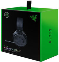 Razer - Kraken Pro V2 Analog Gaming Headset - Oval Ear Cushions - Black - Cover
