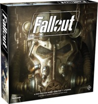 Fallout (Board Game) - Cover