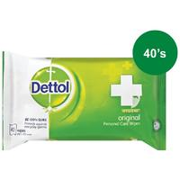 Dettol - Hygiene Wipes Original (Pack of 40)