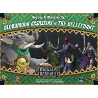 Massive Darkness - Bloodmoon Assassins vs The Hellephant Expansion (Board Game)