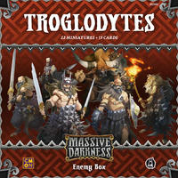 Massive Darkness - Troglodytes Enemy Box (Board Game)