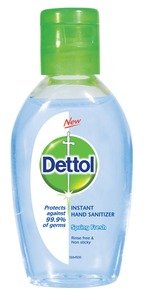 Dettol - Instant Hand Sanitiser Spring Fresh (50ml) - Cover
