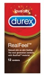 Durex - Real Feel Condoms (Pack of 12)