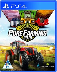 Pure Farming 2018 (PS4) - Cover