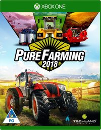 Pure Farming 2018 (Xbox One) - Cover