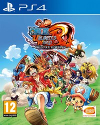 One Piece Unlimited World Red (PS4) - Cover
