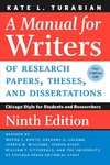 A Manual for Writers of Research Papers, Theses, and Dissertations - Kate L. Turabian (Paperback)