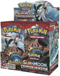 Pokémon TCG - Sun & Moon: Crimson Invasion Booster (Trading Card Game) - Cover