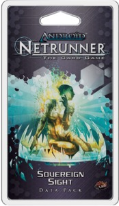 Android Netrunner LCG - Sovereign Sight Data Pack (Card Game) - Cover