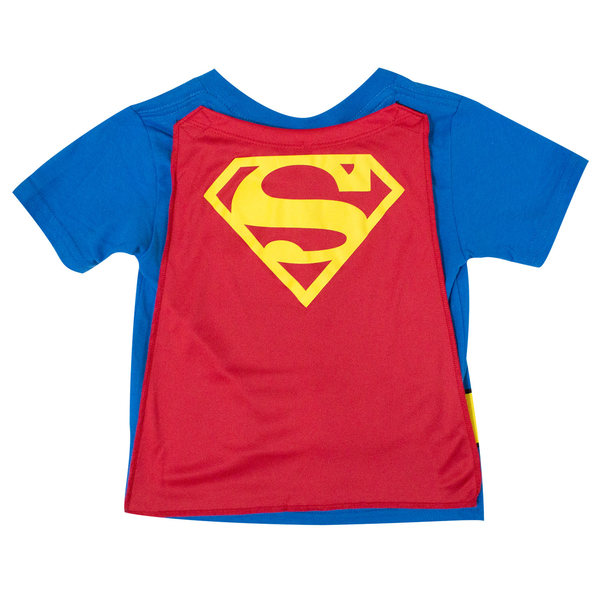 f13a79d64 SUPERMAN Toddler's Cape Tee Shirt (4T) - Merch Online | Raru