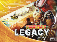 Pandemic Legacy: Season 2 - Yellow Edition (Board Game)